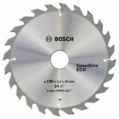 Пильный диск Bosch Speedline Wood ECO 190 x 30/24, Z24